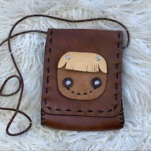 ✨🖤 Super Cute Leather Handmade Crossbody 🖤✨